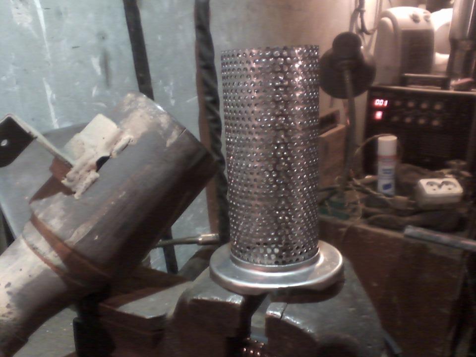 Как заменить катализатор на пламегаситель лачетти