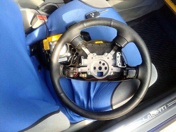 Кнопки на руль лачетти