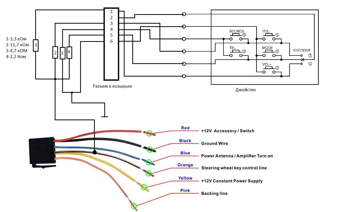 Схема магнитолы на android
