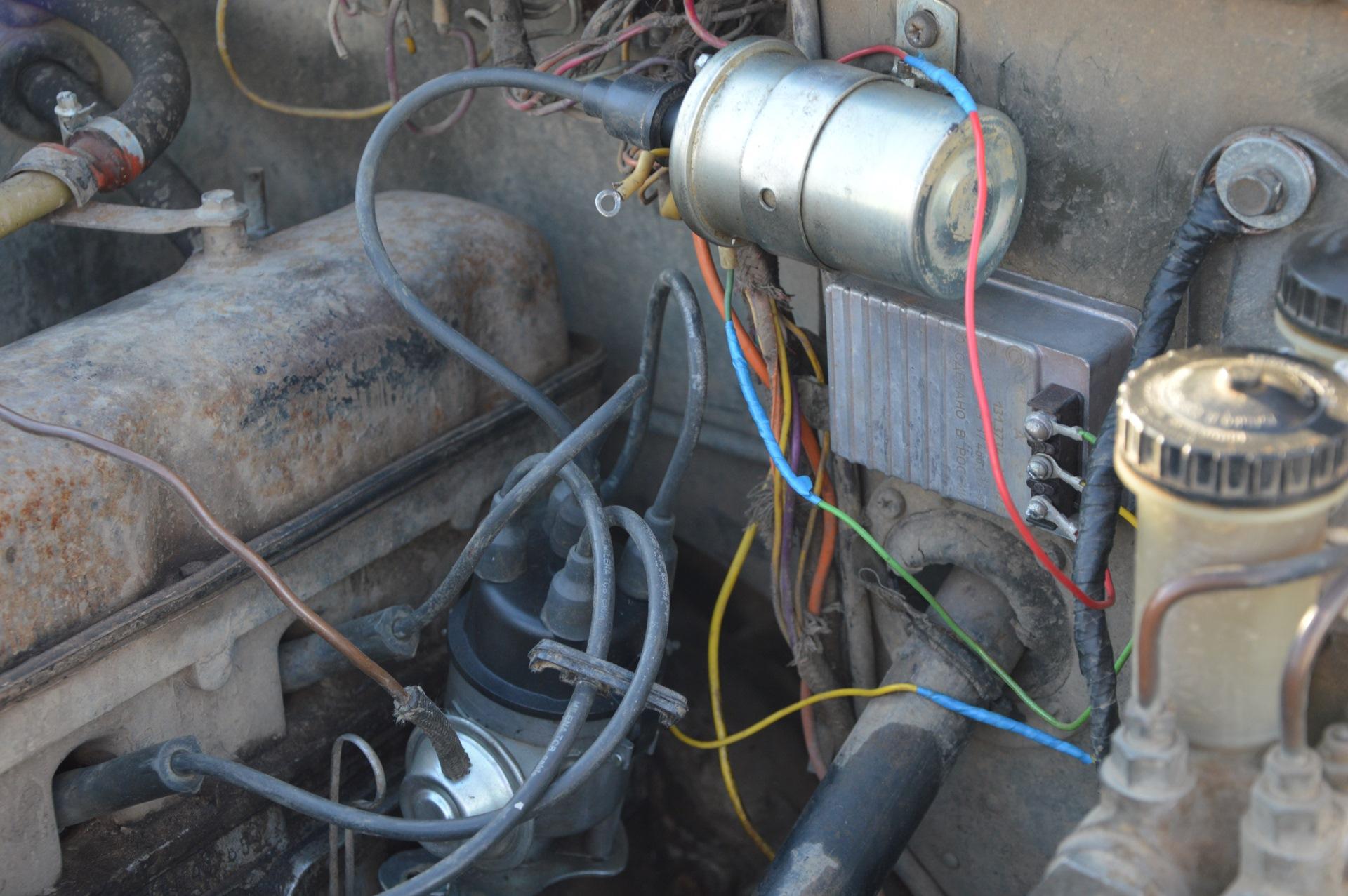 Схема подключения бесконтактного зажигания уаз фото 430