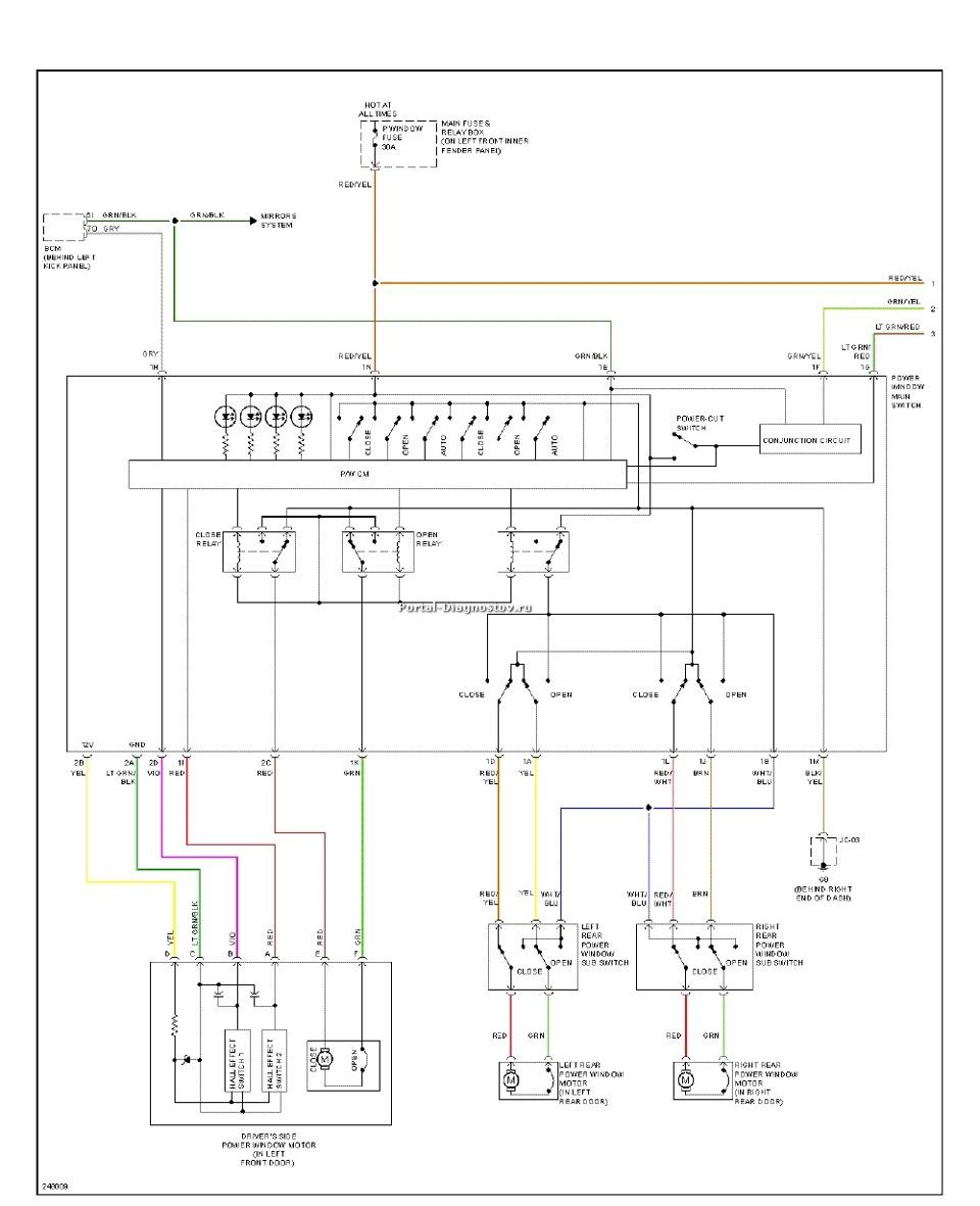 Схема мазда 6 2003 года