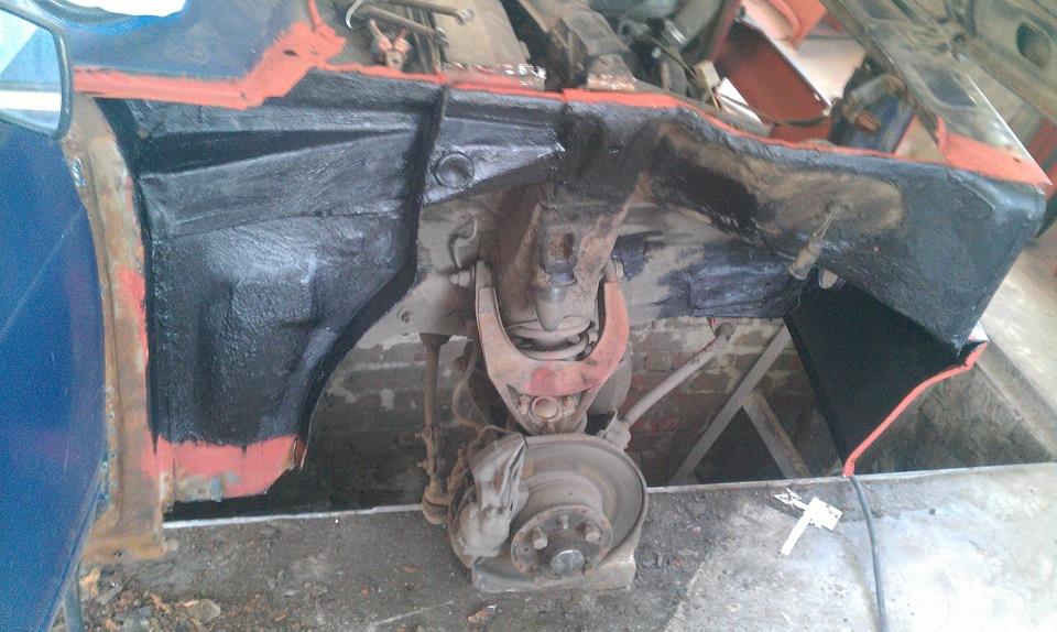 Замена крыла на ваз 2107 своими руками фото 54