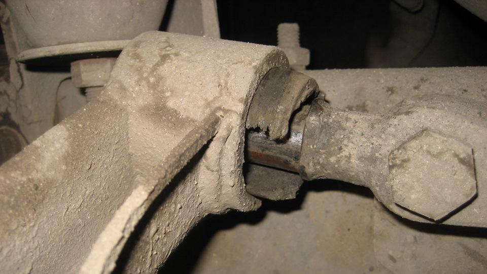Замена сайлентблоков верхнего рычага соболь своими руками