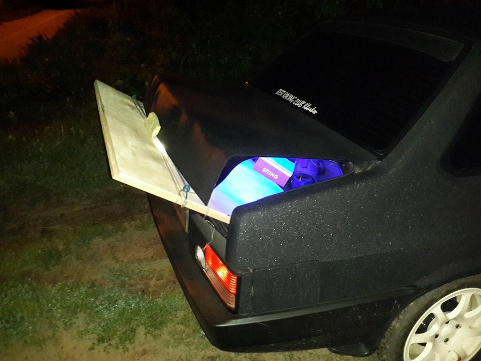 Размеры буфера в крыло багажника ваз 21099