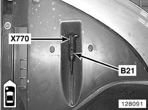bmw e36 датчик окружающей температуры код