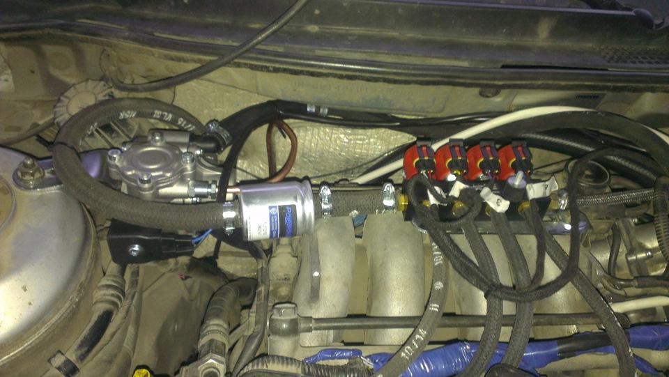 mazda 626 ge троит при нажатии на педаль газа