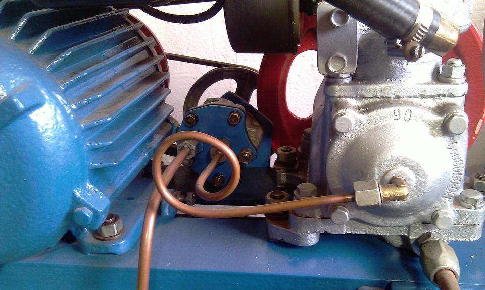 самодельный компрессор из компрессора зил 130 фото