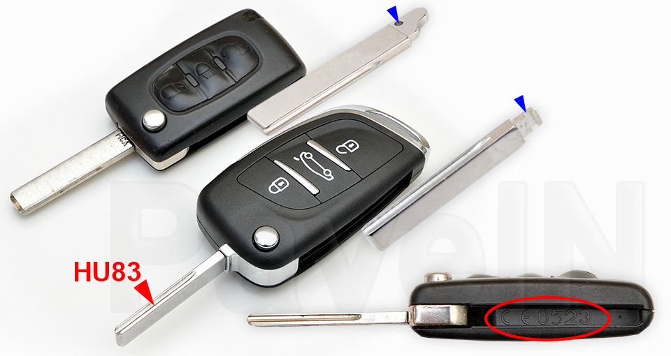 в ситроене пишет ключ не обнаружен