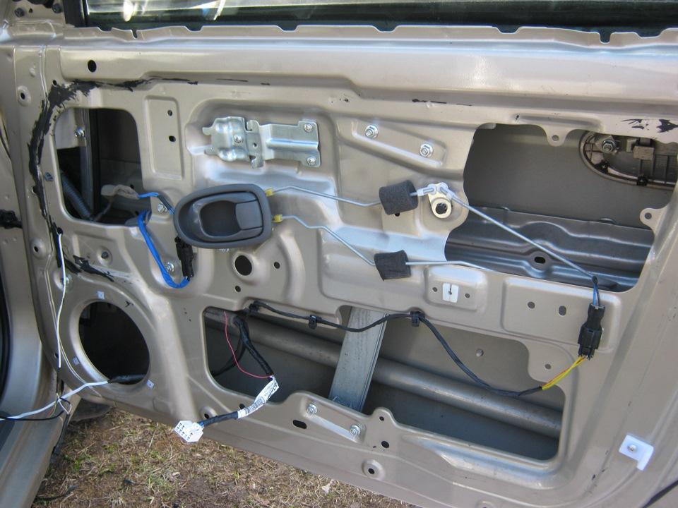 Шумка дверей авто своими руками