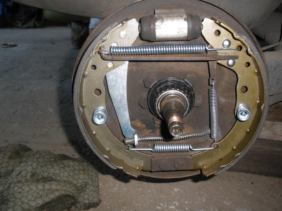 фольксваген венто 1993 задние тормоза схема сборки