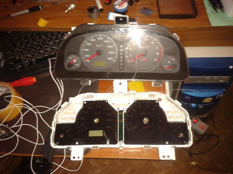 Оптитронную приборную панель