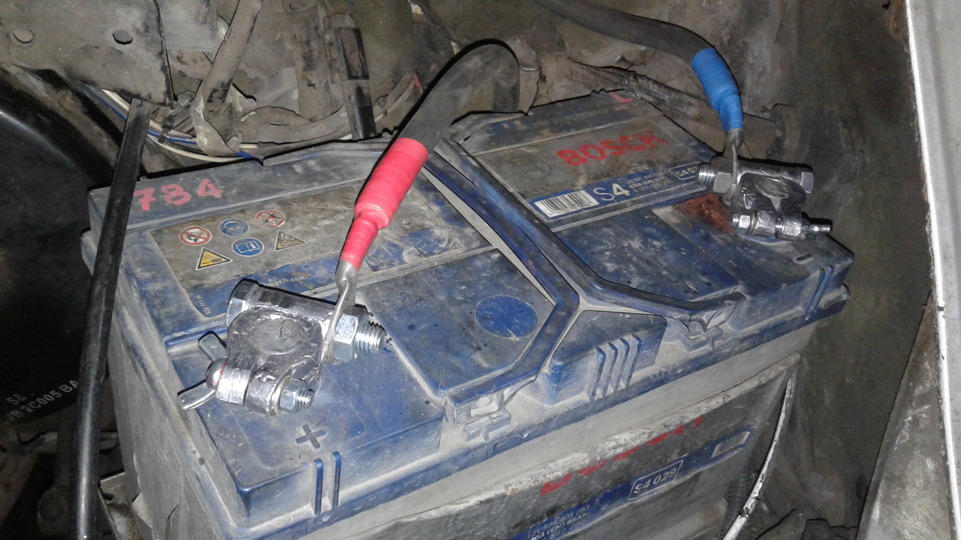 Замена кабеля аккумуляторной батареи ford transit Замена задних колодок ниссан патфайндер r51