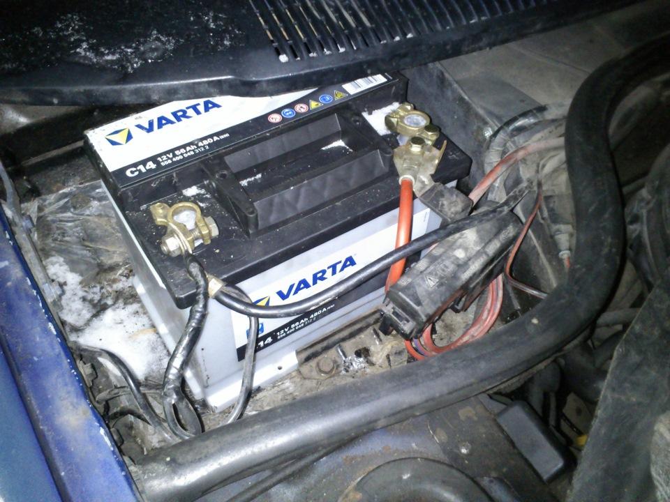 Ford escort battery light