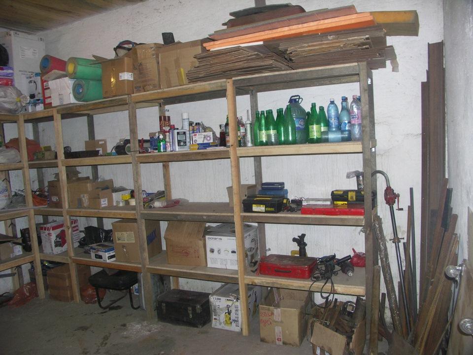 Фото обустройства гаража своими руками
