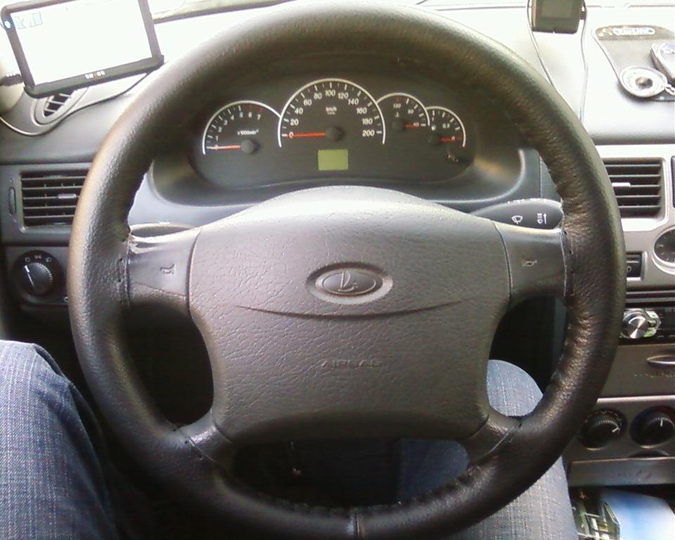 кожаная оплетка на руль! приора - бортжурнал Лада Приора Седан 2011 года на DRIVE2