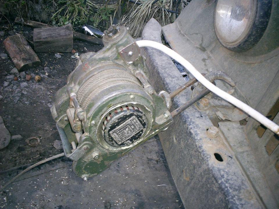 Лебедка Бл-56 Инструкция - фото 2