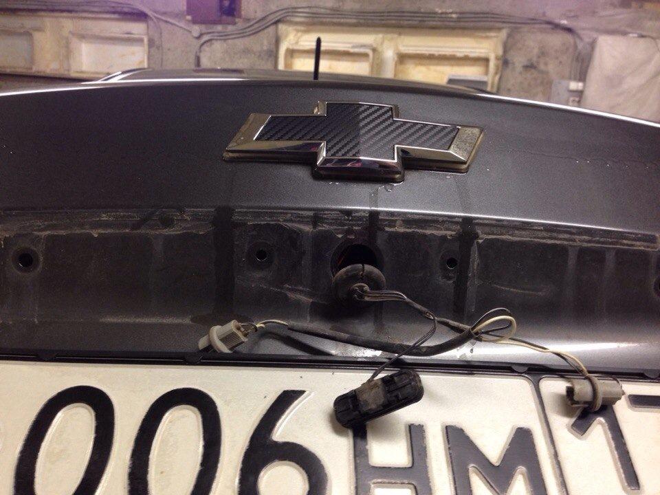 замена кнопки багажника chevrolet круз
