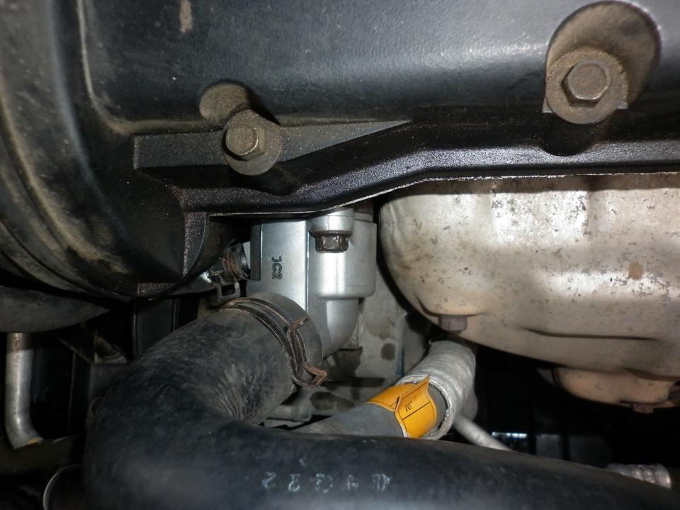 Замена термостата шевроле круз