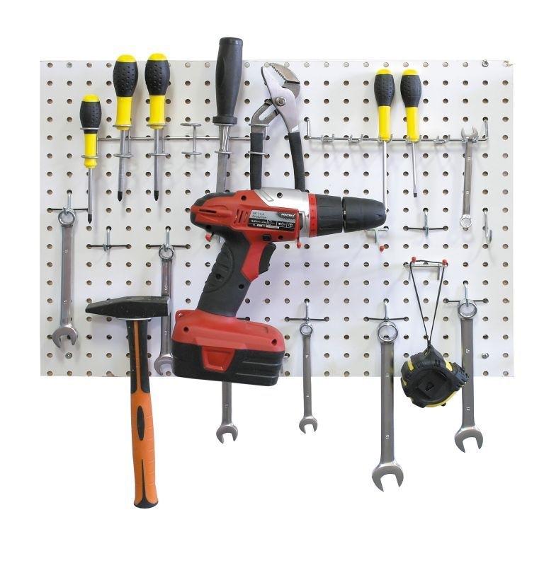 Перфорированная панель для инструментов своими руками