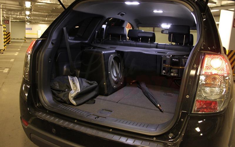 Шевроле каптива тюнинг фото