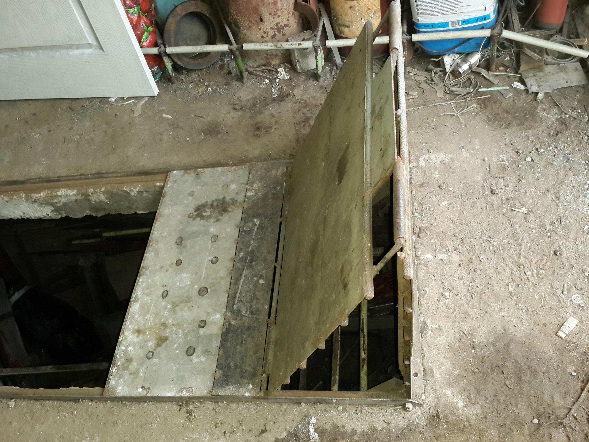 люк для ямы в гараже