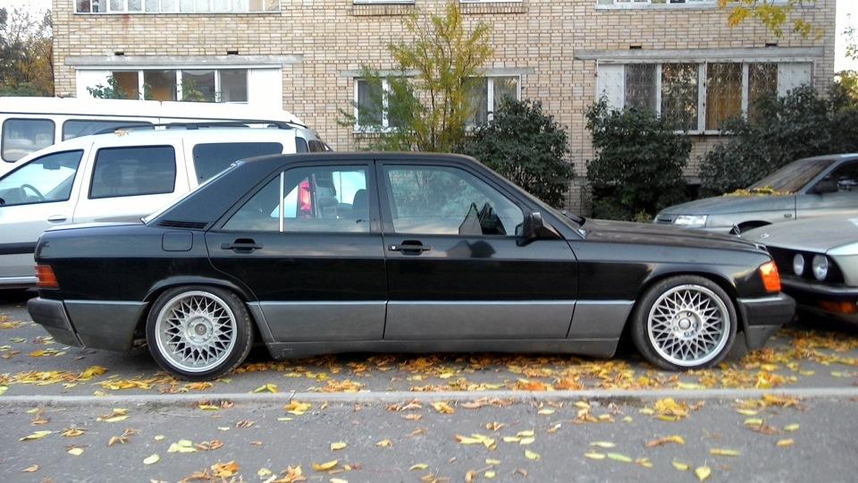 <b>Mercedes</b>-Benz 190 (W201) Stance | DRIVE2