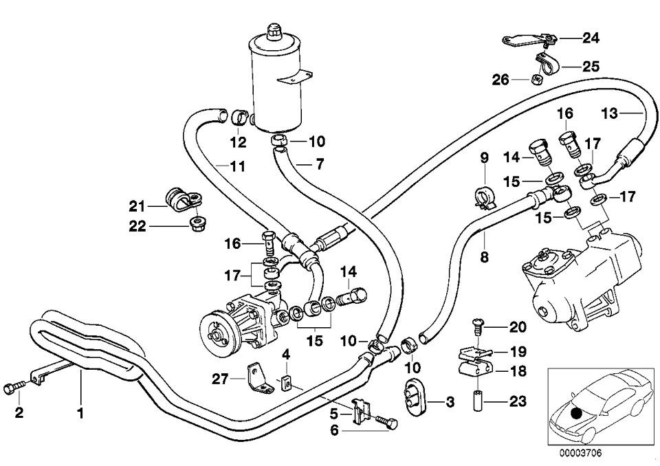 схема системы ГУРа в каталоге