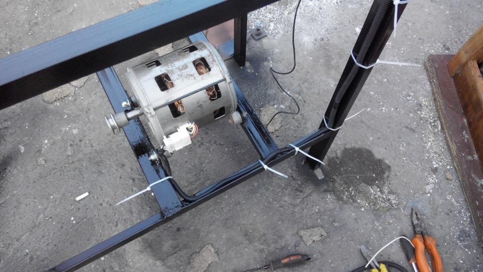 как сделать вибратор для вибростола