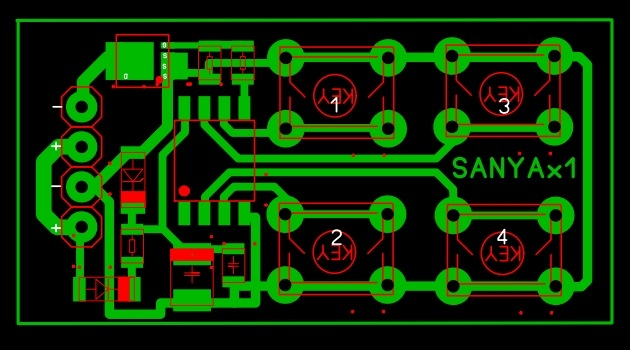 Схема генератора импульсов для форсунок