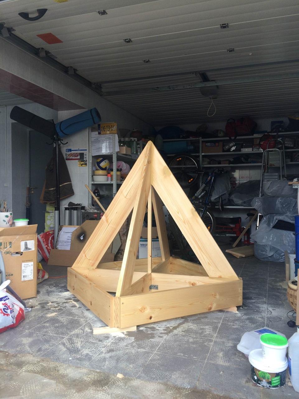 Сделай пирамиду своими руками