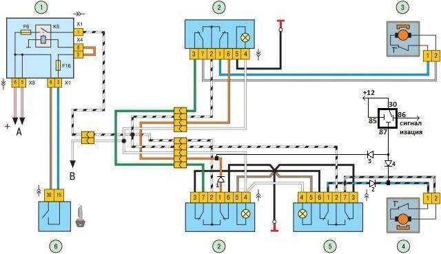 Схема принципиальная ps-301pv2