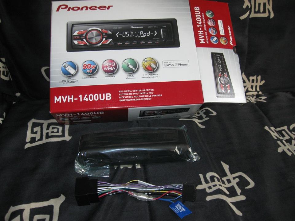 Pioneer Mvh-1400Ub Руководство