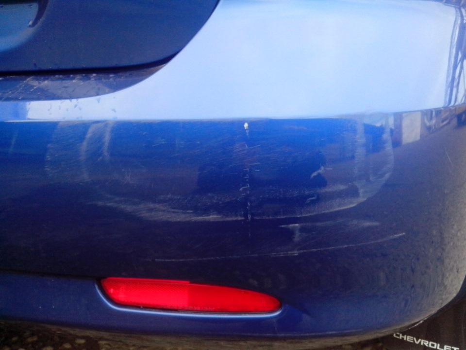 Полировка царапины на автомобиле своими руками 41
