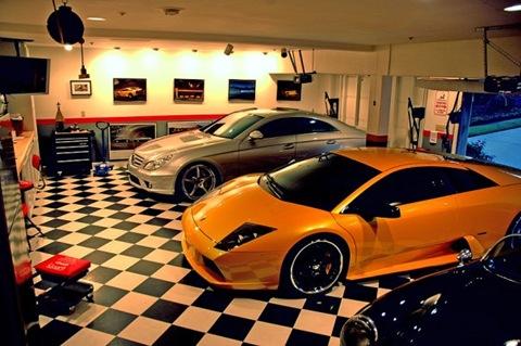 фото уютный гараж