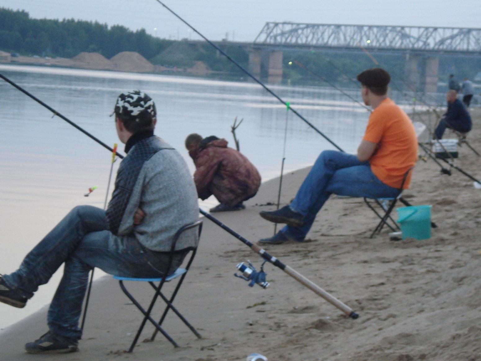 Как обстоят дела с рыбалкой