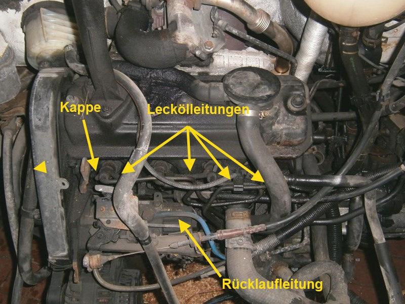 volkswagen polo обратка топлива