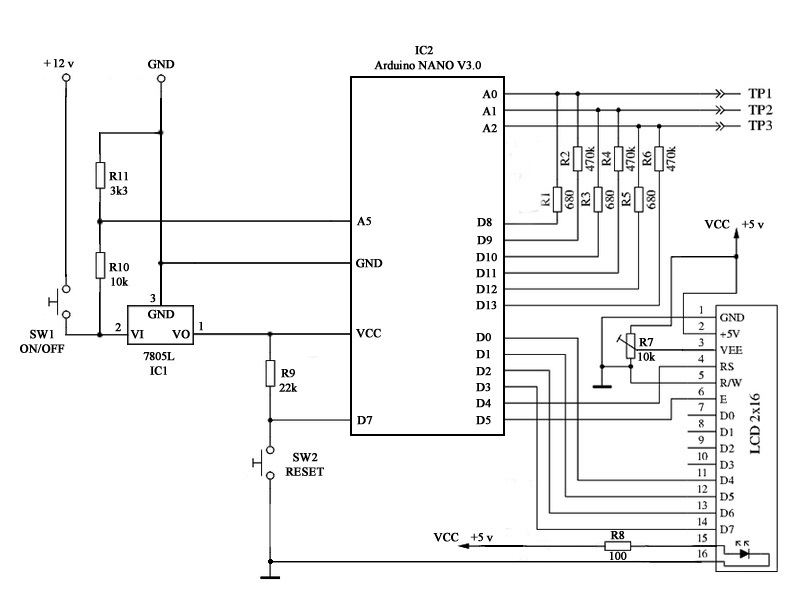 Electronic Circuits and Diagram-Electronics Projects and