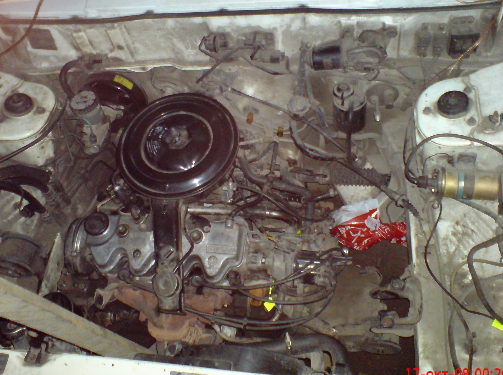 Фото двигателя ниссан санни