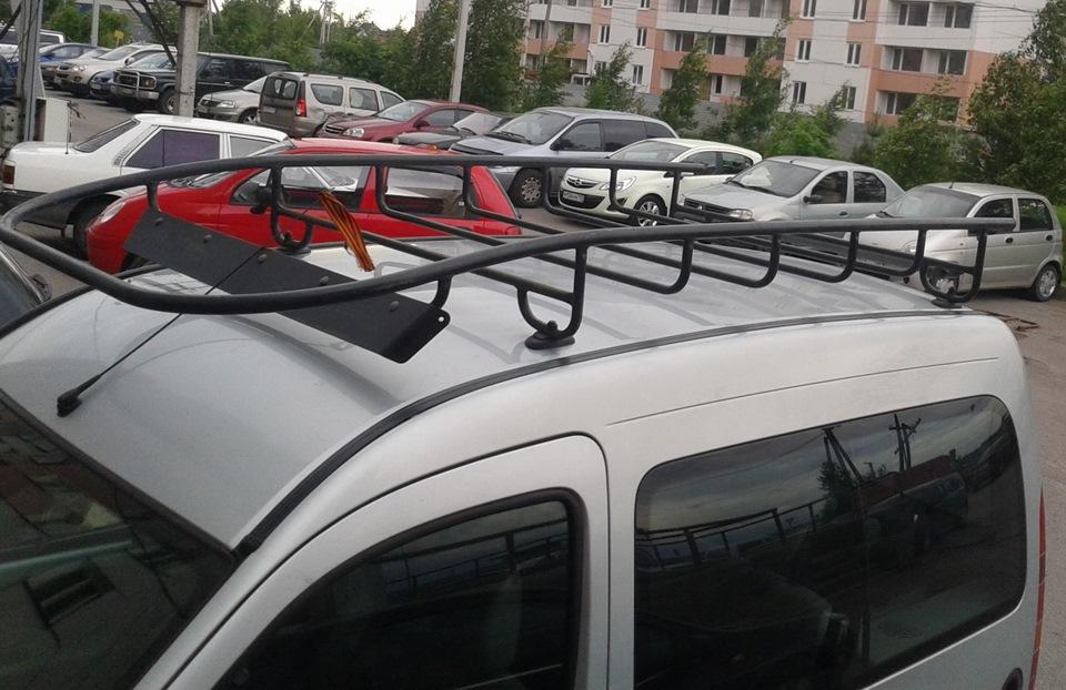 Багажник на крышу автомобиля рено кенго
