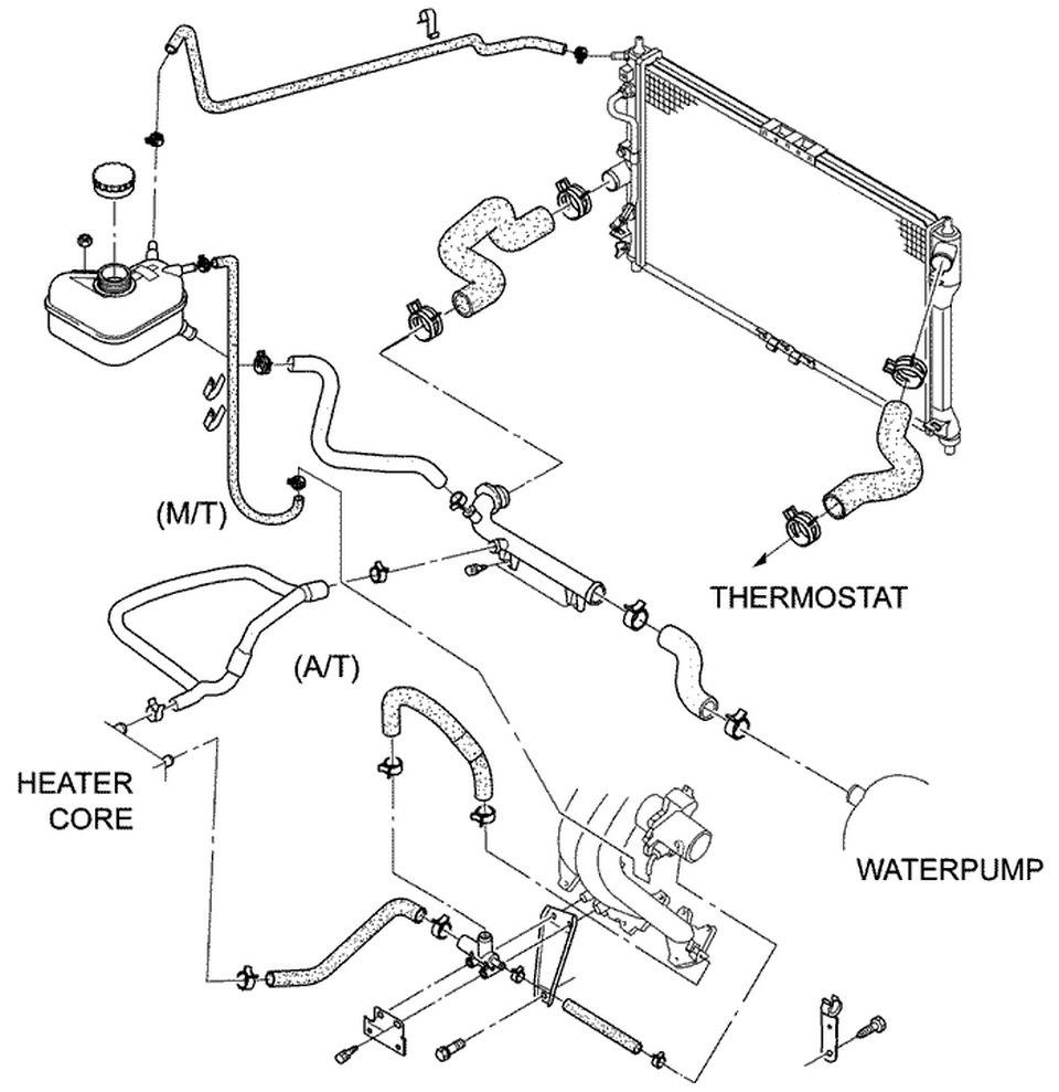Система отопления ланос 1.5 схема фото 672