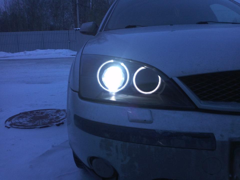 Ангельские глазки на форд мондео 3