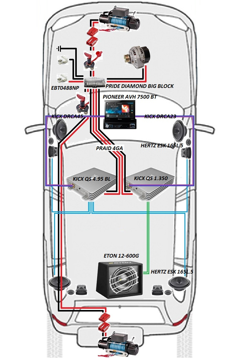мультимедийная схема chevrolet niva