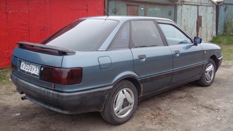 Схема электрооборудования Audi
