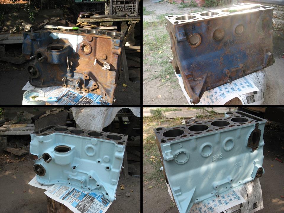 2101 ремонт двигателя своими руками