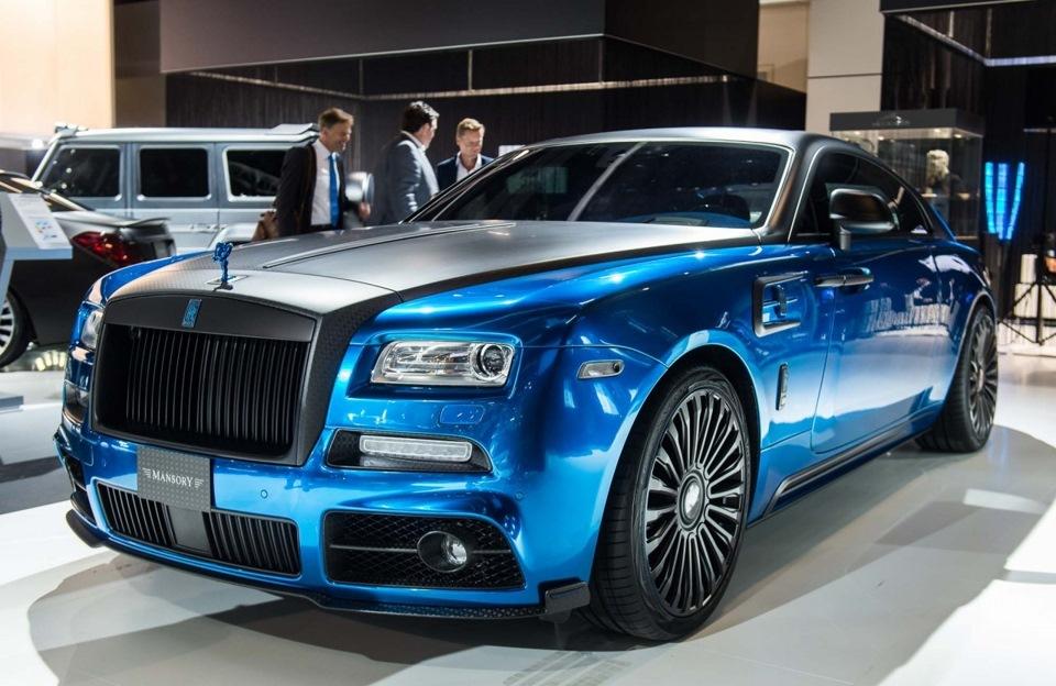 Роскошные и очень дорогие автомобили тюнинг-ателье Mansory ...
