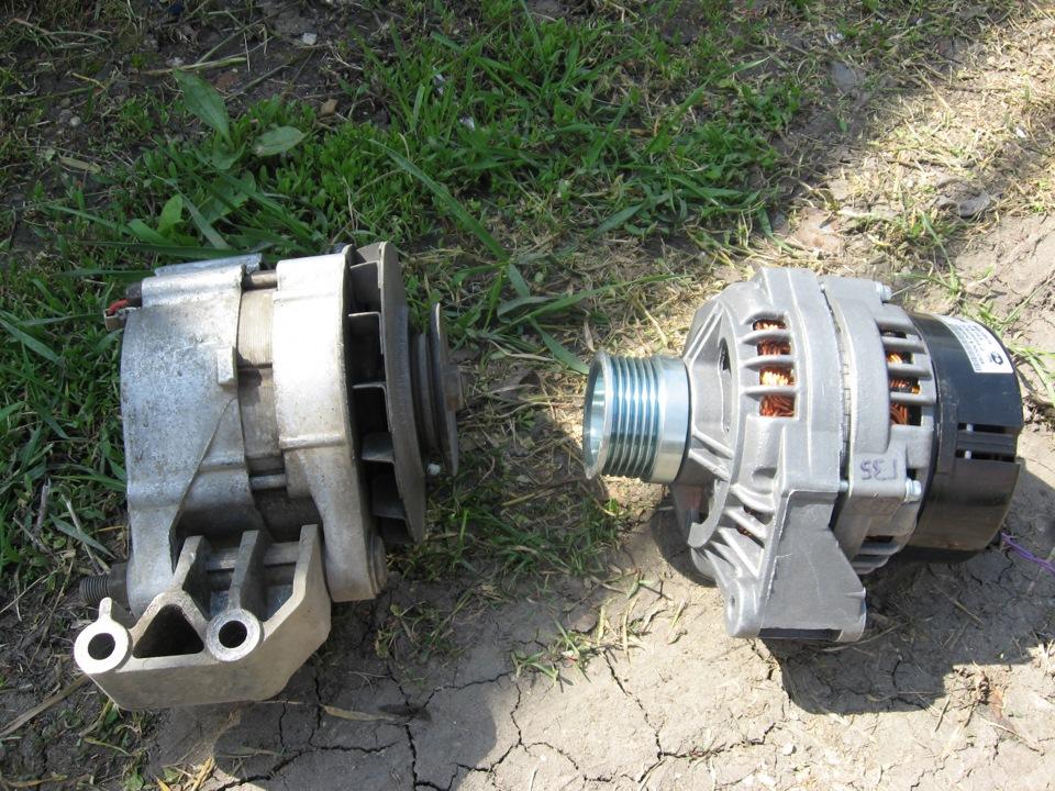 приора-генератор с маленькой