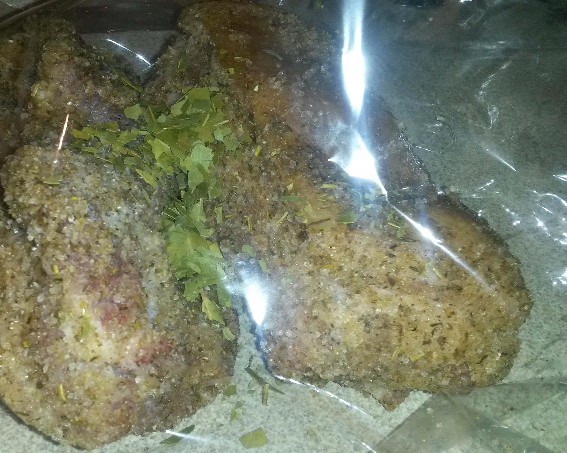 Варёная грудинка в пакете рецепт