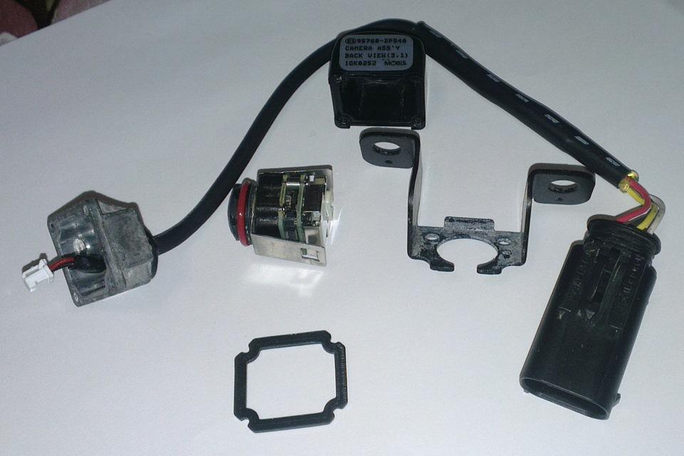 ремонт камер заднего вида