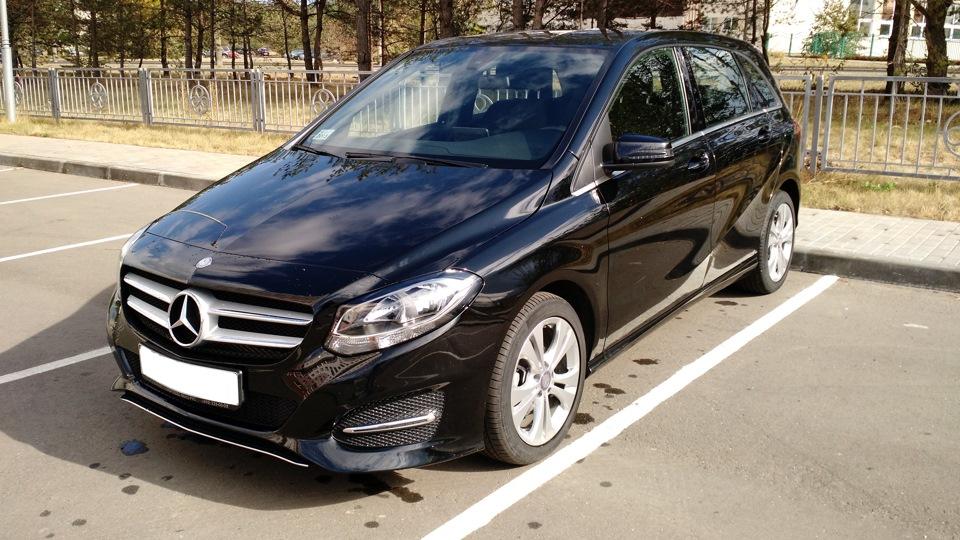 Mercedes benz b class drive2 for Mercedes benz b class bev