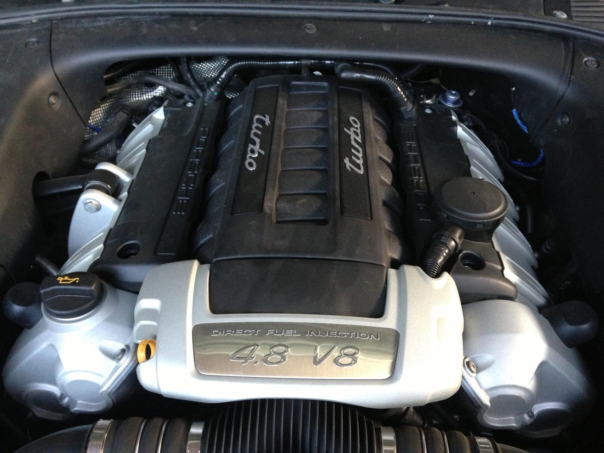двигатель на porsche cayenne